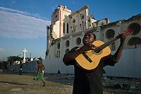Port Au Prince, Haiti, April 10, 2010.