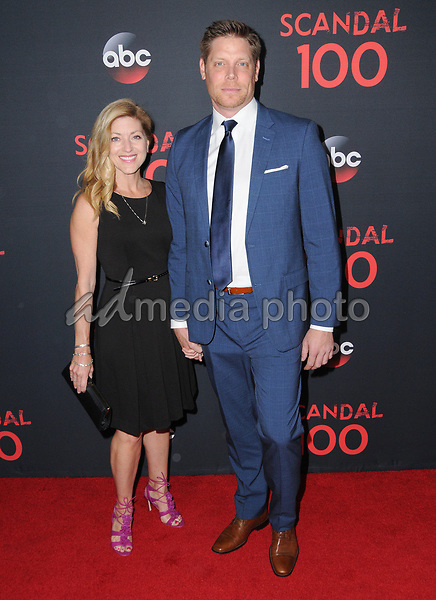 08 April 2017 - West Hollywood, California - Brian Letscher. ABC's 'Scandal' 100th Episode Celebration held at Fig & Olive in West Hollywood. Photo Credit: Birdie Thompson/AdMedia