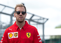 Sebastian VETTEL (GER) (SCUDERIA FERRARI) during the Formula 1 Rolex British Grand Prix 2019 at Silverstone Circuit, Towcester, England on 14 July 2019. Photo by Vince  Mignott.