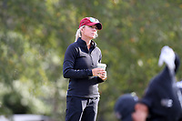 CHAPEL HILL, NC - OCTOBER 13: Head coach Kalen Anderson of the University of South Carolina at UNC Finley Golf Course on October 13, 2019 in Chapel Hill, North Carolina.