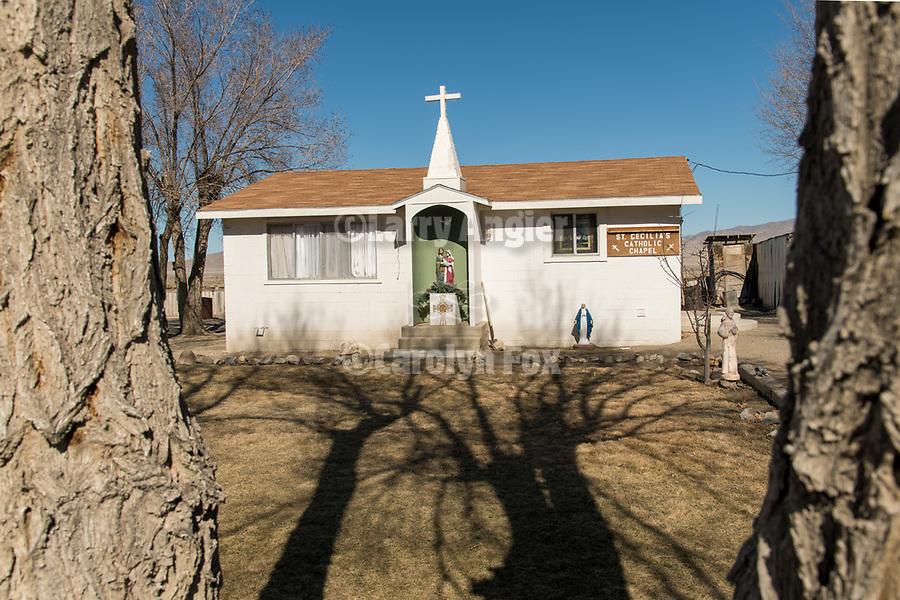 St. Cecilia's Catholic Chapel, Imalay, Nev.