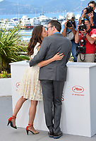 Michel Hazanavicius &amp; Berenice Bejo at the photocall for &quot;The Formidable&quot; (Le Redoutable) at the 70th Festival de Cannes, Cannes, France. 21 May 2017<br /> Picture: Paul Smith/Featureflash/SilverHub 0208 004 5359 sales@silverhubmedia.com