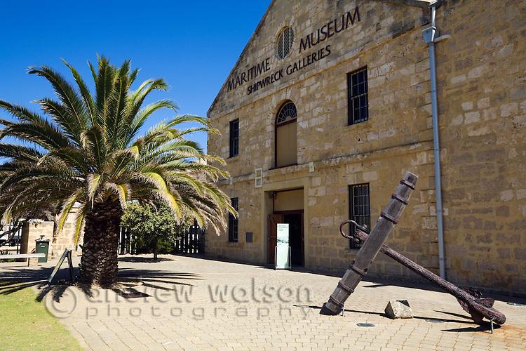 Maritime Museum Shipwreck Galleries.  Fremantle, Western Australia, AUSTRALIA.