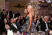 Pamela Anderson &amp; H&eacute;l&egrave;ne S&eacute;gara : &quot; The Best &quot; 40th Edition &agrave; l'h&ocirc;tel George V.<br /> France, Paris, 27 janvier 2017.<br /> ' The Best ' 40th Edition at the George V hotel in Pais.<br /> France, Paris, 27 January 2017