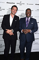 LONDON, UK. October 16, 2019: Dominic West and Wendell Pierce arriving for the Esquire Townhouse 2019 launch party, London.<br /> Picture: Steve Vas/Featureflash