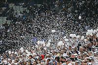 SÃO PAULO,SP, 04.06.2016 - CORINTHIANS-CORITBA - Torcedores do Corinthians durante partida contra o Coritiba jogo válido pela sexta rodada do Campeonato Brasileiro na Arena Corinthians em Itaquera na região leste de São Paulo neste sábado, 04. (Foto: William Volcov/Brazil Photo Press)