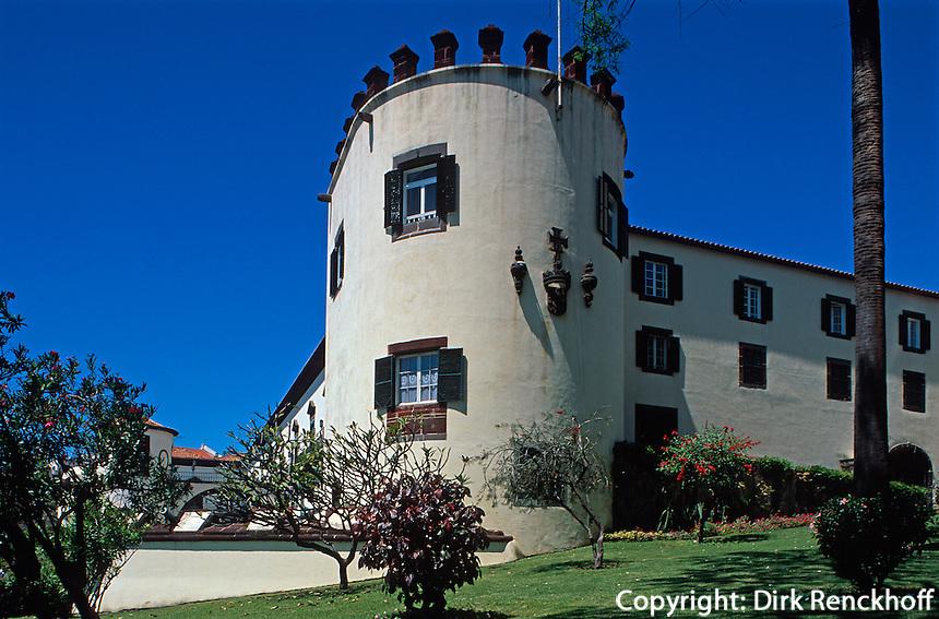 Portugal, Madeira, Festung Palacio de Sao Lourenco in Funchal