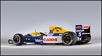 BNPS.co.uk (01202 558833)<br /> Pic:   Bonhams/BNPS<br /> <br /> Red Hot Five ! - Mansell's historic Williams F1 winner sells for a whopping £2.7million.<br /> <br /> A classic Formula One car that Nigel Mansell drove to his only World Championship victory has sold at auction.<br /> <br /> The Williams-Renault FW14B took the British racer to the crown in 1992 and is regarded as one of the greatest cars of all-time.<br /> <br /> Mansell won nine out of the sixteen races that season and also secured a further three podium finishes as he romped to the title.