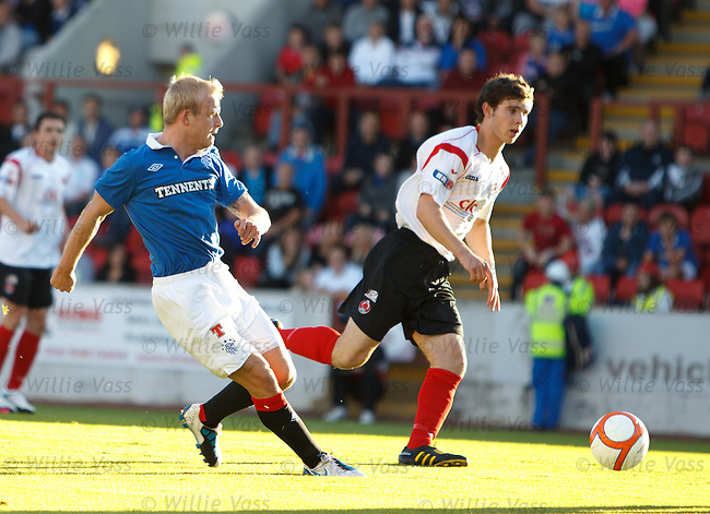 Steven Naismith scores for Rangers