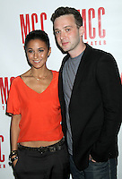 June 14 , 2012 Emmanuelle Chriqui and Eddie Kaye Thomas attends the MCC Theater's benefit reading of The Heart Of The Matter afterparty  at the Ramscale in New York City. © RW/MediaPunch Inc. NORTEPHOTO.COM<br />