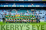 The Kerry team who played Cavan in the All Ireland Minor Semi Final in Croke Park on Sunday.