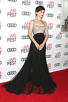"LOS ANGELES - NOV 8:  Cailee Spaeny at the AFI FEST 2018 - Opening Gala  ""On The Basis Of Sex""  at the TCL Chinese Theater IMAX on November 8, 2018 in Los Angeles, CA"