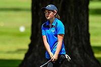A disappointed Lizzie Neale of Tasman. Toro New Zealand Womens Interprovincial Tournament, Waitikiri Golf Club, Christchurch, New Zealand, 4th December 2018. Photo:John Davidson/www.bwmedia.co.nz