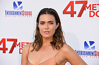 Mandy Moore at the Los Angeles premiere for &quot;47 Meters Down&quot; at the Regency Village Theatre, Westwood. <br /> Los Angeles, USA 12 June  2017<br /> Picture: Paul Smith/Featureflash/SilverHub 0208 004 5359 sales@silverhubmedia.com