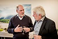 Dansk Fjernvarmes Nyt&aring;rsstafet. Tidligere minister Carsten Hansen var tilstede ved nyt&aring;rsstafetten.<br /> Foto: Jens Panduro