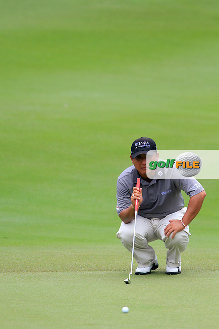 Mo Joong-kyung (KOR) on the 14th on Day 3 of the Maybank Malaysian Open 2012 at Kuala Lumpur Golf and Country Club, Kuala Lumpur, Malaysia...(Photo Jenny Matthews/www.golffile.ie)