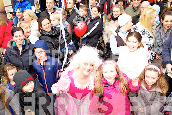 Pictured at the Ch Chemist Christmas parade on Saturday