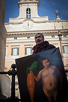 27.02.2018 - Satirical Artist Kaya Mar Visits Rome For The Italian General Election 2018