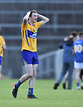 Mark Mc Inerney of Clare looking relieved following their Munster Minor football semi-final against Tipperary at Thurles. Photograph by John Kelly.