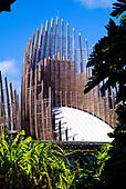 Tarodière, centre culturel Tjibaou