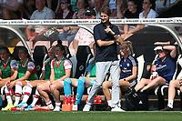 Arsenal manager Joe Montemurro during Arsenal Women vs Tottenham Hotspur Women, Friendly Match Football at Meadow Park on 25th August 2019