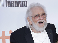 "TORONTO, ONTARIO - SEPTEMBER 05: Ronnie Hawkins attends the ""Once Were Brothers: Robbie Robertson And The Band"" premiere during the 2019 Toronto International Film Festival at Roy Thomson Hall on September 05, 2019 in Toronto, Canada. <br /> CAP/MPIIS<br /> ©MPIIS/Capital Pictures"
