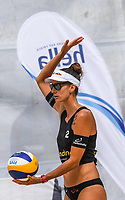 19th July 2020; Dusselldorf, Germany; Comdirect beach volleyball tour;  Joana Heidrich SUI