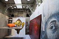 Europe/Turquie/Istanbul : Dans l'Atelier  d'Ismail Acar, peintre