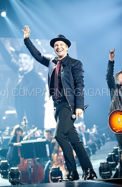 American musician and singer-songwriter Gavin DeGraw performing at the Night Of The Proms, in Antwerp (Belgium, 14/11/2015)