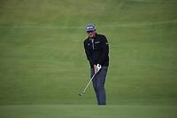 Keegan Bradley (USA) during Round One of the 148th Open Championship, Royal Portrush Golf Club, Portrush, Antrim, Northern Ireland. 18/07/2019. Picture David Lloyd / Golffile.ie<br /> <br /> All photo usage must carry mandatory copyright credit (© Golffile | David Lloyd)