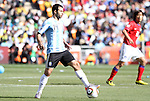 17 JUN 2010: Javier Macherano (ARG). The Argentina National Team defeated the South Korea National Team 4-1 at Soccer City Stadium in Johannesburg, South Africa in a 2010 FIFA World Cup Group E match.