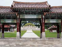 K&ouml;nigsgrab Wang Gon bei Kaesong, Nordkorea, Asien, UNESCO-Weltkulturerbe<br /> Royal tomb Wang Gon near Kaesong, North Korea, Asia, world heritage