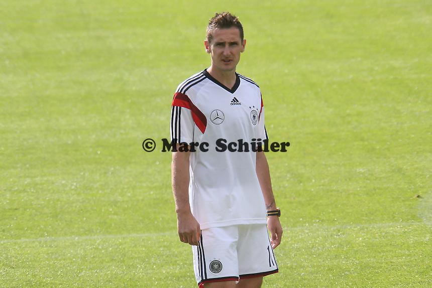 Miroslav Klose - Testspiel der Deutschen Nationalmannschaft gegen die U20 zur WM-Vorbereitung in St. Martin