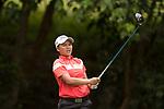 Golfer Kusuma Meechai of Thailand during the 2017 Hong Kong Ladies Open on June 10, 2017 in Hong Kong, China. Photo by Marcio Rodrigo Machado / Power Sport Images