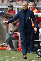 Cesare Prandelli coach of Genoa reacts during the Serie A 2018/2019 football match between Genoa CFC and Juventus FC at stadio Luigi Ferraris, Genova, March 17, 2019 <br /> Photo Andrea Staccioli / Insidefoto