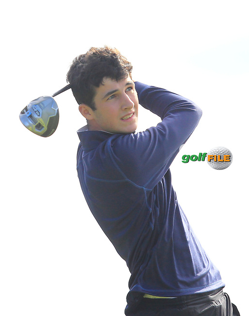 Rory Jennings on the 2nd tee during the GOLFSTYLE Connacht Close Finals  at Loughrea Golf Club, Loughrea, Co Galway. 14/08/2017<br /> Picture: Golffile | Thos Caffrey<br /> <br /> All photo usage must carry mandatory copyright credit     (&copy; Golffile | Thos Caffrey)