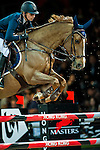 Katharina Offel of Ukraine riding Pin Up Ouistreham competes at the Longines Speed Challenge during the Longines Hong Kong Masters 2015 at the AsiaWorld Expo on 13 February 2015 in Hong Kong, China. Photo by Juan Flor / Power Sport Images