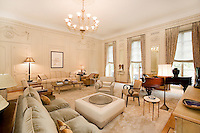 Living Room at 11 Gramercy Park South
