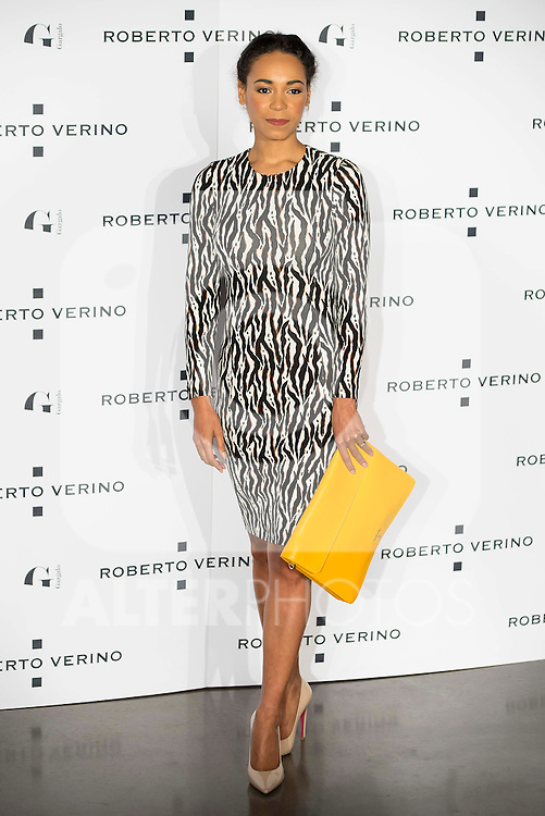 "Monte Pla during the presentation of the new Spring-Summer collection ""Un Balcon al Mar"" of Roberto Verino at Platea in Madrid. March 16, 2016. (ALTERPHOTOS/Borja B.Hojas)"