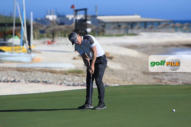 David Horsey (ENG) on the 15th green during Round 3 of The Rocco Forte Open  at Verdura Golf Club on Saturday 20th May 2017.<br /> Photo: Golffile / Thos Caffrey.<br /> <br /> All photo usage must carry mandatory copyright credit     (&copy; Golffile | Thos Caffrey)