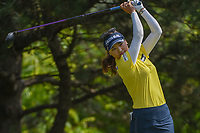 So Yeon Ryu (KOR) watches her tee shot on 2 during round 4 of the 2018 KPMG Women's PGA Championship, Kemper Lakes Golf Club, at Kildeer, Illinois, USA. 7/1/2018.<br /> Picture: Golffile | Ken Murray<br /> <br /> All photo usage must carry mandatory copyright credit (&copy; Golffile | Ken Murray)