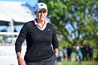 Cristie Kerr (USA) deaprts 18 after sinking a par putt during a playoff hole with Haru Nomura (JPN) following round 4 of  the Volunteers of America Texas Shootout Presented by JTBC, at the Las Colinas Country Club in Irving, Texas, USA. 4/30/2017.<br /> Picture: Golffile | Ken Murray<br /> <br /> <br /> All photo usage must carry mandatory copyright credit (&copy; Golffile | Ken Murray)