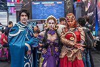 SÃO PAULO, SP, 06.12.2018 - CCXP - Público durante a Comic Con Experience na São Paulo Expo no bairro da Água Funda, na região Sul da cidade de São Paulo nesta quinta-feira, 06. (Foto: Anderson Lira/Brazil Photo Press)