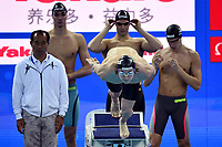 Team ITALY ITA <br /> CONDORELLI Santo , VERGANI Andrea , ZAZZERI Lorenzo , <br /> MIRESSI Alessandro <br /> Men's 4x50 freestyle <br /> Hangh Zhou 14/12/2018 <br /> Hang Zhou Olympic & International Expo Center <br /> 14th Fina World Swimming Championships 25m <br /> Photo Andrea Staccioli/ Deepbluemedia /Insidefoto