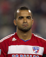 FC Dallas forward Maicon Santos (9). In a Major League Soccer (MLS) match, the New England Revolution defeated FC Dallas, 2-0, at Gillette Stadium on September 10, 2011.