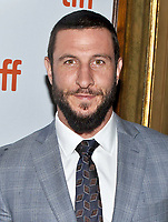 10 September  2018 - Toronto, Ontario, Canada. Pablo Schreiber. &quot;First Man&quot; Premiere - 2018 Toronto International Film Festival at the Elgin Theatre. <br /> CAP/ADM/BPC<br /> &copy;BPC/ADM/Capital Pictures