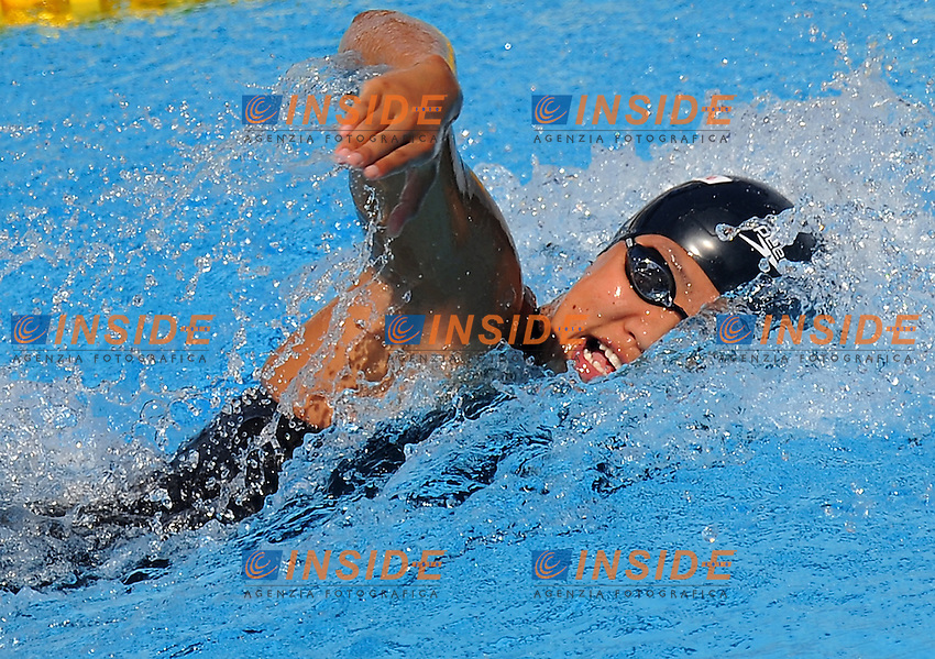 Roma 30th July 2009 - 13th Fina World Championships From 17th to 2nd August 2009....Swimming heats..Women's 4x200m freestyle..Team France....photo: Roma2009.com/InsideFoto/SeaSee.com