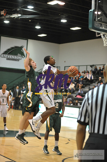 In a non-conference matchup Stevenson Men's basketball  pulls away with a 90-79 victory over the Skidmore College Thoroughbreds Saturday afternoon at Owings Mills Gymnasium,In a non-conference matchup Stevenson Men's basketball  pulls away with a 90-79 victory over the Skidmore College Thoroughbreds Saturday afternoon at Owings Mills Gymnasium,