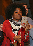 LaChanze during the Opening Night Actors' Equity Gypsy Robe Ceremony honoring  Afra Hines for 'Summer:The Donna Summer Musical at Lunt-Fontanne Theatre on April 23, 2018 in New York City.