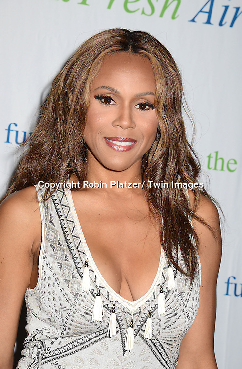 Deborah Cox attend The Fresh Air Fund Salute to Mariah Carey on May 29, 2014 at Pier Sixty at Chelsea Piers in New York, New York, USA.